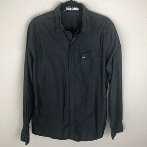 Volcom casual button up size large